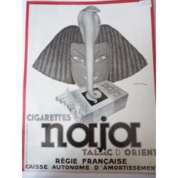 Ancienne publicité originale  couleur pour les radiateurs Mécano 1937