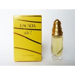 Miniature de parfum Acte 2 de Escada