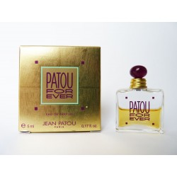 Miniature de parfum Patou For Ever de Jean Patou