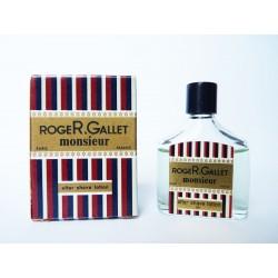Miniature ancienne Monsieur de Roger & Gallet