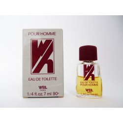 Miniature de parfum Pour Homme de Weil