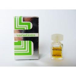 Miniature de parfum Variations de Carven