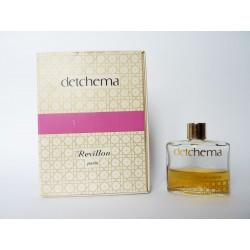 Ancien petit flacon de parfum Detchema de Revillon
