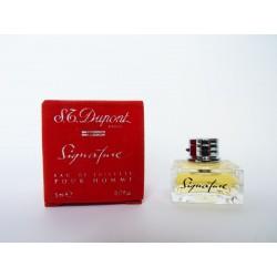 Miniature de parfum Signature de S.T. Dupont Homme