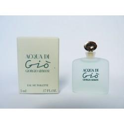 Miniature de parfum Acqua di Gio de Giorgio Armani