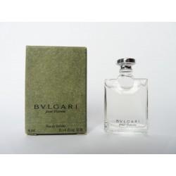 Miniature de parfum Bulgari pour homme