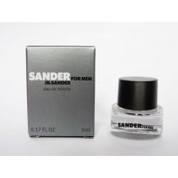 Miniature de parfum Sander for Men de Jil Sander