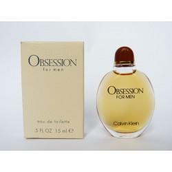 Miniature de parfum Obsession for Men de Calvin Klein