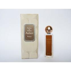 Ancienne miniature de parfum Audace de Rochas