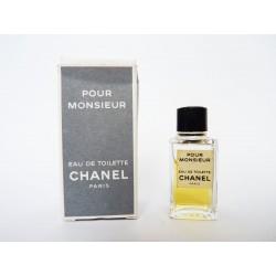 Miniature de parfum Pour Monsieur de Chanel