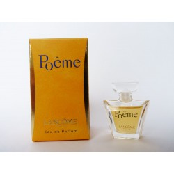 Miniature de parfum Poême de Lancôme