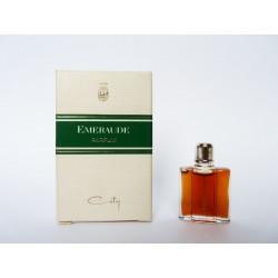 Ancienne miniature de parfum Emeraude de Coty