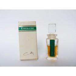 Miniature de parfum ancienne Emeraude de Coty