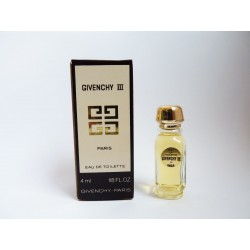 Miniature de parfum Givenchy III de Givenchy
