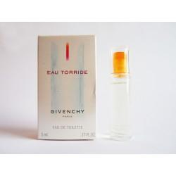 Miniature de parfum Eau Torride de Givenchy