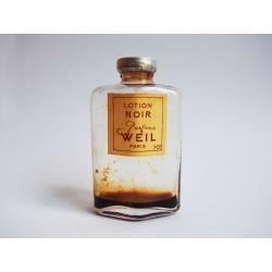 Ancienne lotion Noir de Weil