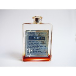 Ancien flacon recharge Shalimar de Guerlain