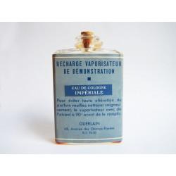 Ancien flacon recharge Eau de Cologne Impériale de Guerlain