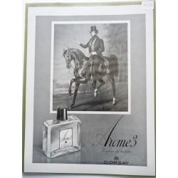 Ancienne publicité originale noir & blanc Arome 3 d'Orsay 1953