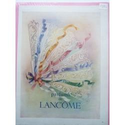 Ancienne publicité originale couleur parfum Lancôme1946