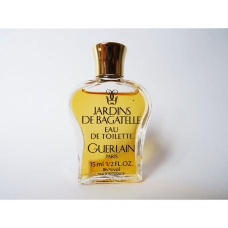 Ancien flacon lyre Jardins de Bagatelle de Guerlain
