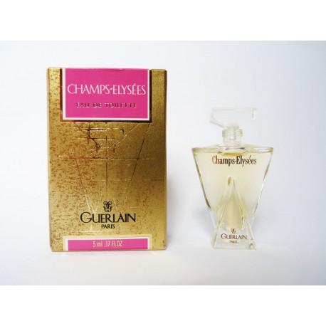Miniature de parfum Champs Elysées de Guerlain