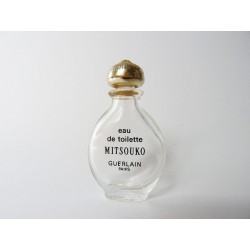 Ancienne miniature Mitsouko de Guerlain goutte G2
