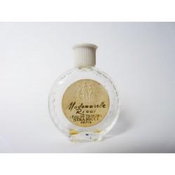 Miniature de parfum Mademoiselle Ricci de Nina Ricci flacon montre
