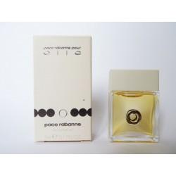 Miniature de parfum Paco Rabanne pour Elle