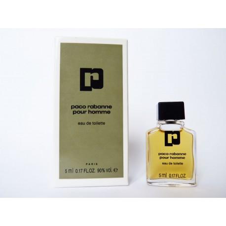 Miniature Paco de parfum Rabanne pour Homme