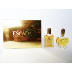 Coffret de 2 miniatures de parfum Escada