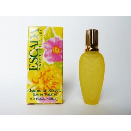 Miniature de parfum Jardin de Soleil de Escada
