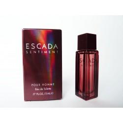 Miniature de parfum Sentiment pour homme de Escada