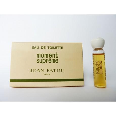 Miniature de parfum Moment Suprême de Jean Patou