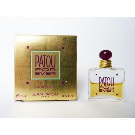 Miniature de parfum Patou For Ever de Jean Patou