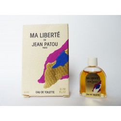 Miniature de parfum Ma Liberté de Jean Patou