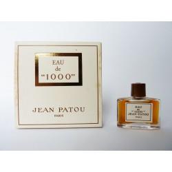 Miniature de parfum Eau de 1000 de Jean Patou