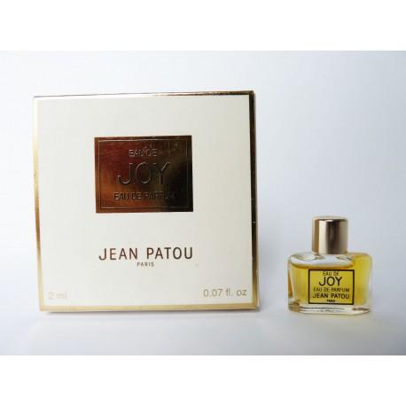 Miniature de parfum Eau de Joy de Jean Patou