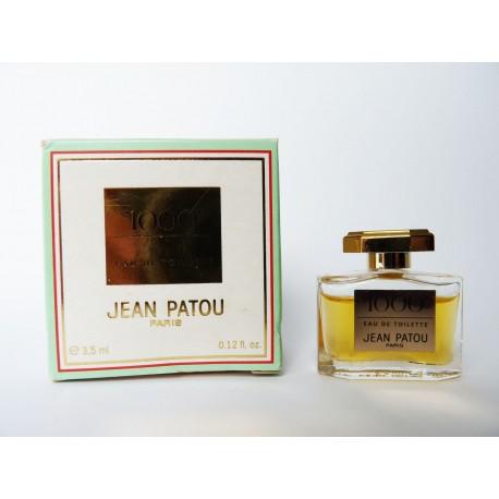Miniature de parfum 1000 de Jean Patou