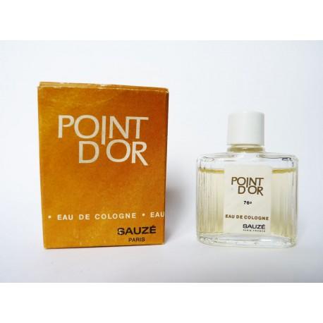 Miniature de parfum Point d'Or de Sauzé