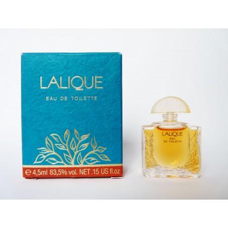 Miniature de parfum Lalique