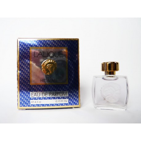 Miniature de parfum Lalique pour homme