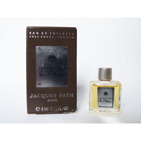 Miniature de parfum Pour l'Homme de Jacques Fath