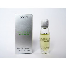 Miniature de parfum What about Adam de Joop!