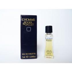 Miniature de parfum L'Homme de Roger & Gallet