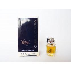 Miniature de parfum Vôtre de Charles Jourdan