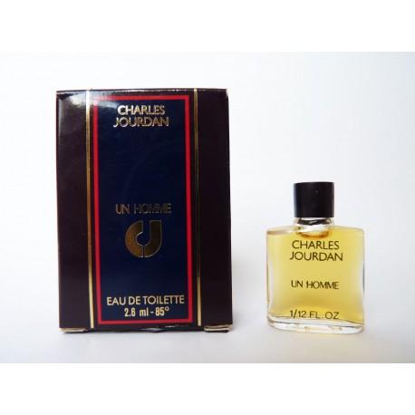 Miniature de parfum Un Homme de Charles Jourdan