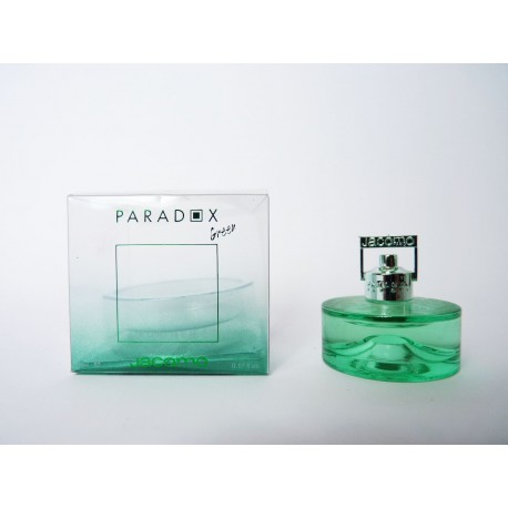 Miniature de parfum Paradox Green Men de Jacomo