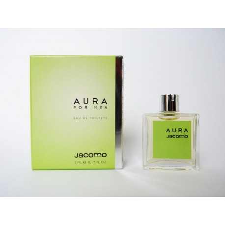 Miniature de parfum Aura Men de Jacomo