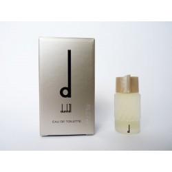 Miniature de parfum D de Dunhill